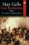 Portada de LOS ROMANOS: TITO: EL MARTIRIO DE LOS JUDIOS