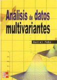 Portada de ANALISIS DE DATOS MULTIVARIANTES