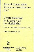 Portada de TEORIA FUNCIONAL DE LA PENA Y CULPABILIDAD
