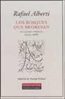 Portada de LOS BOSQUES QUE REGRESAN: ANTOLOGIA POETICA 1924-1988
