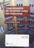 Portada de COMUNIDADES DE VECINOS: TODAS LAS RESPUESTAS