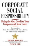 Portada de CORPORATE SOCIAL RESPONSIBILITY: DOING THE MOST GOOD FOR YOUR COMPANY AND YOUR CAUSE