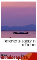 Portada de MEMORIES OF LONDON IN THE `FORTIES