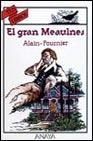 Portada de EL GRAN MEAULNES