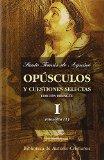 Portada de OPUSCULOS Y CUESTIONES SELECTAS I