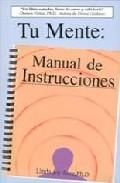 Portada de TU MENTE: MANUAL DE INSTRUCCIONES
