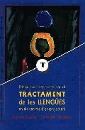 Portada de REFLEXIONS I PROPOSTES PER AL TRACTAMENT DE LES LLENGUES EN ELS CENTRES D ENSENYAMENT