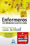 Portada de ENFERMEROS DE ATENCION CONTINUADA DEL SERVICIO ARAGONES DE SALUD TEMARIO PARTE ESPECIFICA. VOLUMEN IV