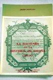"""Portada de LA HACIENDA EN LA HISTORIA DE ESPANA 1700-1931 / JOSEP FONTANA ; Y """"SUPLEMENTO AL DICCIONARIO DE HACIENDA"""" / POR D. JOSE CANGA ARGUELLES"""