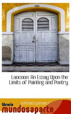 Portada de LAOCOON: AN ESSAY UPON THE LIMITS OF PAINTING AND POETRY