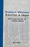 Portada de ESCRITO A LAPIZ: MICROGRAMAS III