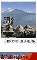 Portada de APHORISMS ON DRAWING