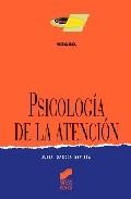 Portada de PSICOLOGIA DE LA ATENCION