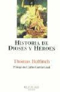 Portada de HISTORIA DE DIOSES Y HEROES