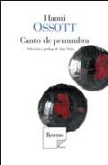 Portada de CANTO DE PENUMBRA