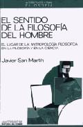 Portada de EL SENTIDO DE LA FILOSOFIA DEL HOMBRE