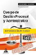 Portada de CUERPO DE GESTION PROCESAL Y ADMINISTRATIVA DE LA ADMINISTRACION DE JUSTICIA . TEMARIO VOLUMEN I