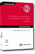 Portada de LA EFICACIA DE LAS DIRECTIVAS COMUNITARIAS EN EL AMBITO LABORAL