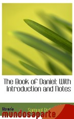 Portada de THE BOOK OF DANIEL: WITH INTRODUCTION AND NOTES