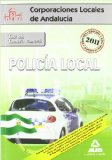 Portada de POLICIA LOCAL DE ANDALUCIA: TEST DEL TEMARIO GENERAL