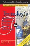 Portada de CUERPO DE PROFESORES DE ENSEÑANZA SECUNDARIA: TECNOLOGIA. PROGRAMACION DIDACTICA Y 15 UNIDADES DE 2º DE ESO