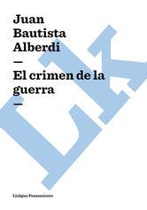 Portada de EL CRIMEN DE LA GUERRA - EBOOK