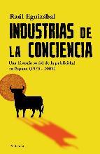 Portada de INDUSTRIAS DE LA CONCIENCIA