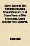 Portada de SEVEN SAMURAI: THE MAGNIFICENT SEVEN, LI