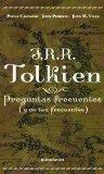 Portada de JRR TOLKIEN: PREGUNTAS FRECUENTES (Y NO TAN FRECUENTES)