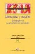 Portada de LITERATURA Y NACION: LA EMERGENCIA DE LAS LITERATURAS NACIONALES