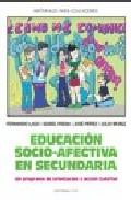 Portada de EDUCACION SOCIO-AFECTIVA EN SECUNDARIA: UN PROGRAMA DE ORIENTACION Y ACCION TUTORIAL
