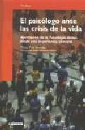 Portada de EL PSICOLOGO ANTE LA CRISIS DE LA VIDA: APORTACION DE LA PSICOLOGIA CLINICA DESDE UNA EXPERIENCIA VIVENCIAL