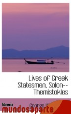 Portada de LIVES OF GREEK STATESMEN, SOLON--THEMISTOKLES