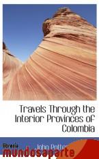 Portada de TRAVELS THROUGH THE INTERIOR PROVINCES OF COLOMBIA