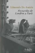 Portada de RECUERDOS DE LONDRES Y PARIS