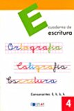Portada de ESCRITURA: EDUCACION PRIMARIA: CUADERNO 4