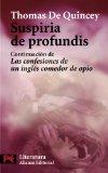 Portada de SUSPIRIA DE PROFUNDIS: CONTINUACION DE LAS CONFESIONES DE UN INGLES COMEDOR DE OPIO