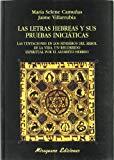 Portada de LAS LETRAS HEBREAS Y SUS PRUEBAS INICIATICAS
