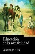 Portada de EDUCACION DE LA SOCIABILIDAD