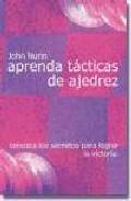 Portada de APRENDA TACTICAS DE AJEDREZ