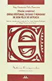 Portada de POESIAS COMPLETAS. OBRAS POSTUMAS, DIVINAS Y HUMANAS DE DON FELIXDE ARTEAGA