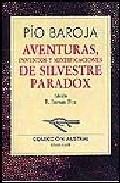 Portada de AVENTURAS, INVENTOS Y MITIFICACIONES DE SILVESTRE PARADOX