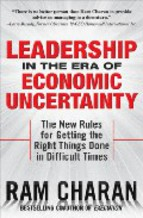 Portada de LEADERSHIP IN THE ERA OF ECONOMIC UNCERTAINTLY