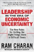 Portada de LEADERSHIP IN THE ERA OF ECONOMIC UNCERTAINTLY