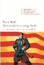 Portada de DEMOCRÀCIA A SANG FREDA (EBOOK)