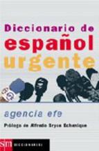 Portada de DICCIONARIO DE ESPAÑOL URGENTE