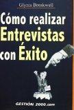 Portada de COMO REALIZAR ENTREVISTAS CON EXITO