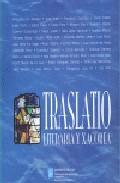 Portada de TRASLATIO LITERARIA Y XACOBEA