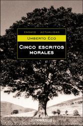 Portada de CINCO ESCRITOS MORALES