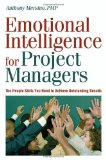 Portada de EMOTIONAL INTELLIGENCE FOR PROJECT MANAGERS: THE PEOPLE SKILLS YOU NEED TO ACHIEVE OUTSTANDING RESULTS